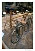 """Såhär såg det ut när det hela med cykel började. Dessa """"cyklar"""" var mycket högre/större än jag hade trodd förr - inga barncyklar här!"""
