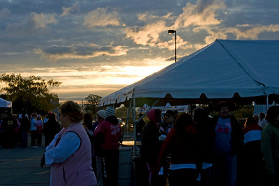 2009 Making Strides:  Set Up