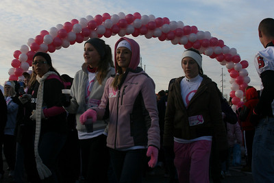 2009 Making Strides:  Start of the Walk