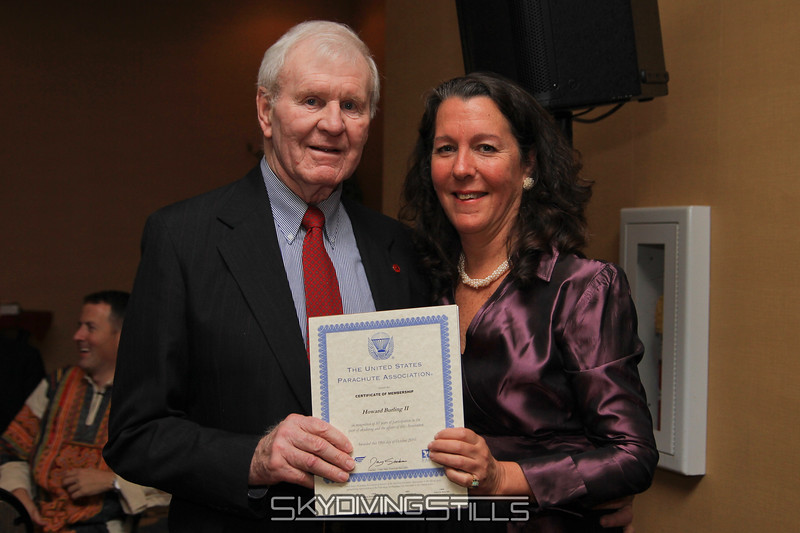 Congrats on 50 years of USPA membership! 12/4/10. Published in Parachutist, March 2011.