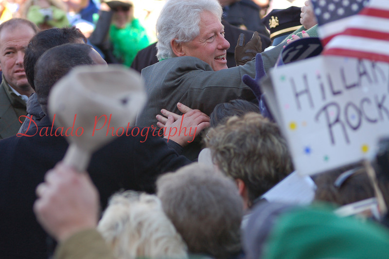 Yes, that is President Bill Clinton in Girardville.