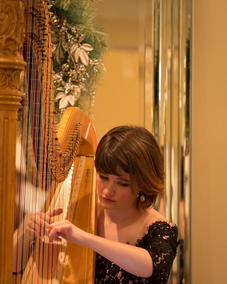 Emily Levin, Harp Concert, Southlake, Texas, 2017