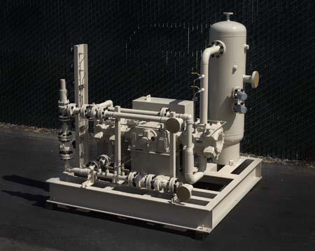 N-Butane gas Vaporizing / Compressor system SolidWorks model