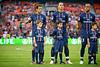 28 July 2012:  \ during DC United's  international friendly match against Paris Saint-Germain at RFK Stadium in Washington, DC.
