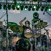 Jules Radino, drummer for Blue Oyster Cult, during Streetfest El Paso 2012