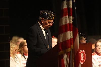 Veteran's Day Program at the Wellington High School