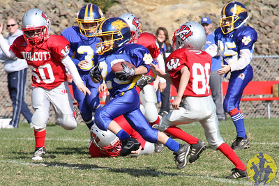 Congratulations to the Brookfield Mighty Mite Blue football team on their big win over Wolcott this afternoon! Great way to end the regular season, boys!  Click here to check out some of the action from their game!