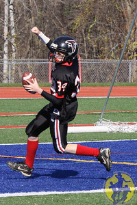 Congratulations to the New Fairfield Pee Wee football team on their big win over Wolcott to earn the Western CT Pop Warner conference championship! Nice win, boys!  Click here to check out some of the action from the game!