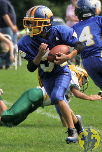 Congratulations to the Brookfield Bobcats Jr PeeWee team on their big win over New Milford last weekend! The Bobcats defeated the Bulls with a big 22 - 6 victory!   Click here to check out the action from their game!