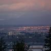 Sunset view of Everett