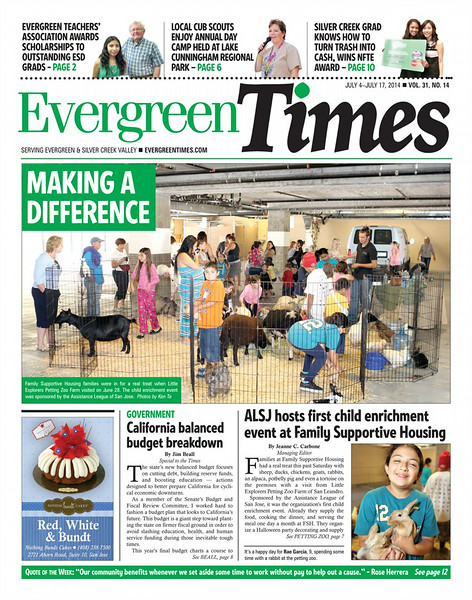 Evergreen Times - July 4-July 17, 2014