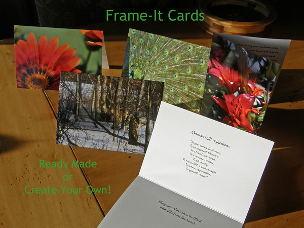 5 x 7 Framable Greeting Cards