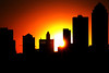 Equinox sunset