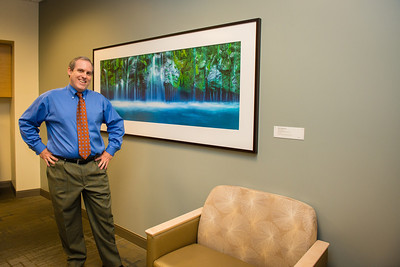 Healthcare and Corporate Office Complex Reception Area Fine Art Installation