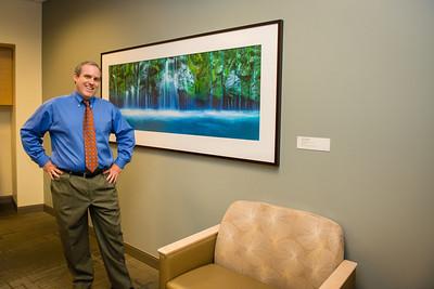 Healthcare and Corporate Office Complex Reception Area Fine Art Installation