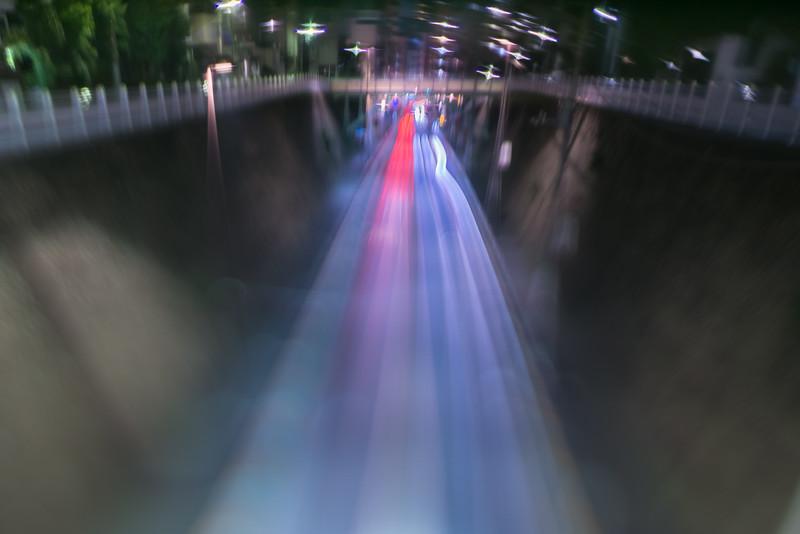 traffic lane of stream - 清流の車線