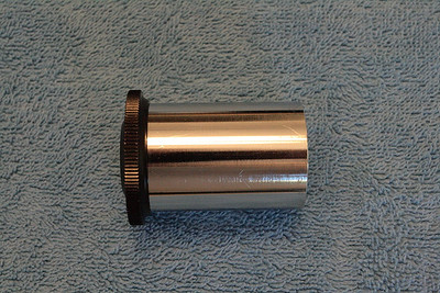 UO 28mm Orthoscopic side view showing chrome barrel.