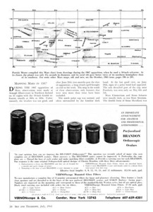Here's your full set of Brandon eyepieces and filters as of July 1968. Click on the above image for larger images. By this time the barrels had changed again. The writing now is on the eyepiece cap, rather than written horizontaly on the barrel as in the series made before.