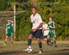 """FALL HEAT""<br /> 16x20 Jordan Glenn<br /> 195mm, f/2.8, ISO 640, Nikon D700, 120-300.mm Sigma<br /> Date: October 14, 2013 Event: Montclair JV Soccer vs Livingston"