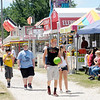 Don Knight/The Herald Bulletin<br /> There are plenty of food options on the midway.
