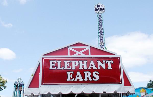 Don Knight/The Herald Bulletin<br /> Red Barn Elephant Ears were a popular choice.