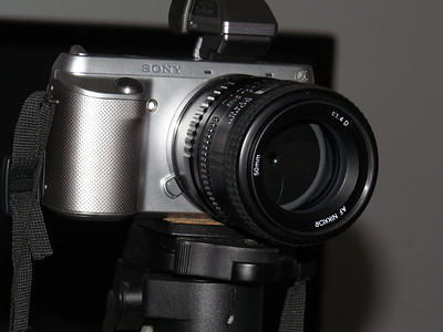 Sony F3 and Nikon 50mm f/1.4 Lens
