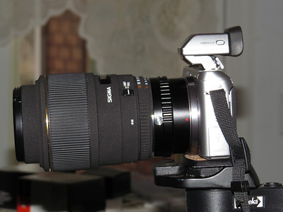 Sony F3 and Sigma 105mm f/2.8 Lens