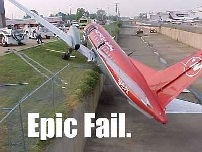 plane fail
