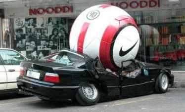 fail ball car