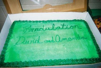 gradulation cake