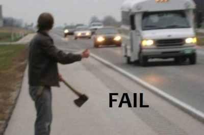 hatchet fail