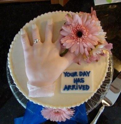 hand cake
