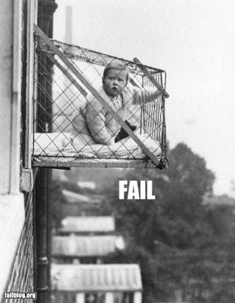 fail kid cage