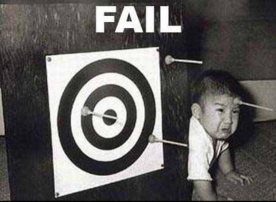 arrow fail