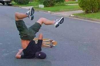 skater fail