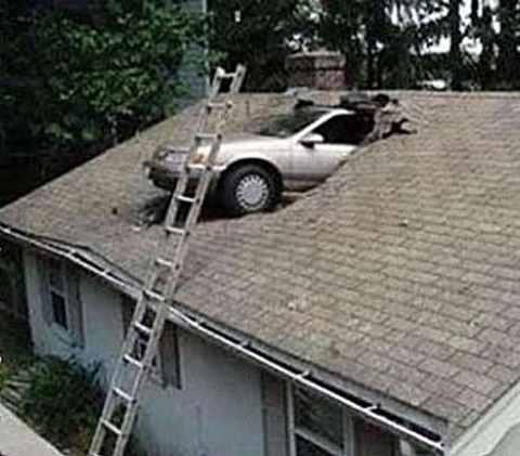 roof fail