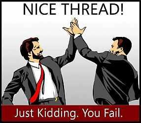 thread fail