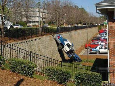 cop car fail