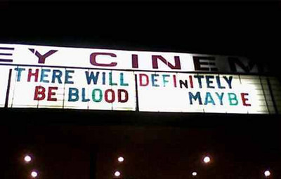 blood marquee
