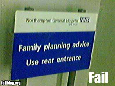 family fail