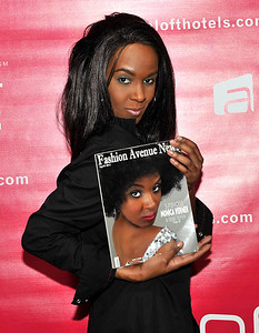 21 April 2012-New York, NY- at the Launch party for Fashion On The Hudson IV at the Aloft Harlem Hotel. Photo Credit: Duncan Williams/Sipa USA