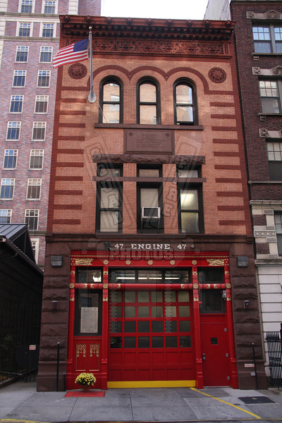 FDNY Quarters of Engine 47 located in Manhattan.