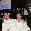 mario monge and mary carey dinner at 10 arts restaurant  ritz carlton