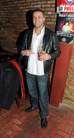 Snookie's ex BF Jeff Miranda makes an appearance at South Philly Bar & Grill, Phila Pa