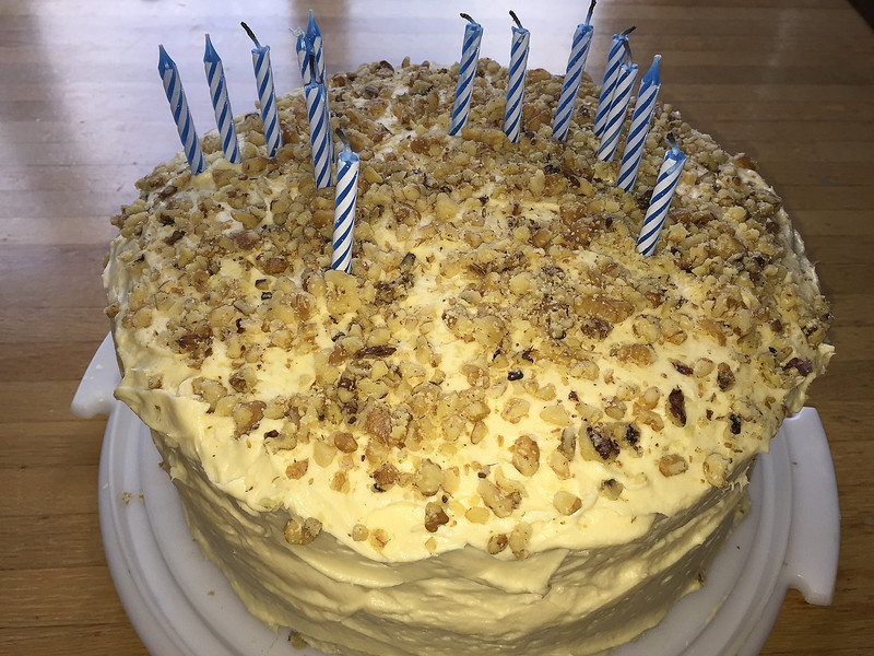 Maple Walnut Cake = My favorite