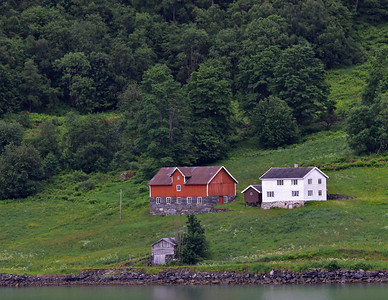 Sognefyord, Norway from Skjolden