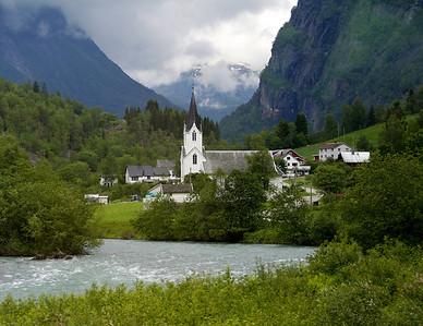 Church near Skjolden