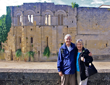 Chris and Jan in St. Emilion