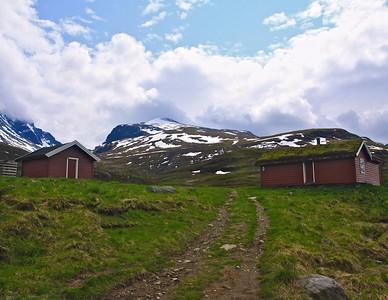 High Mountain Cabin out of Skjolden