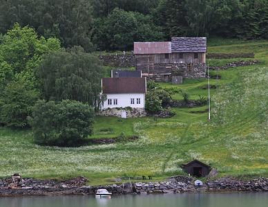 Sognefyord, Norway returning from Skjolden
